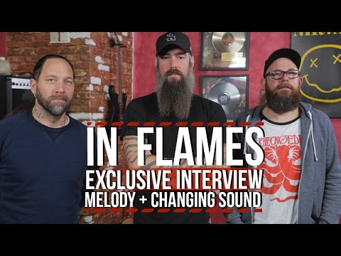 In Flames on Adapting Melody to Changing Sound