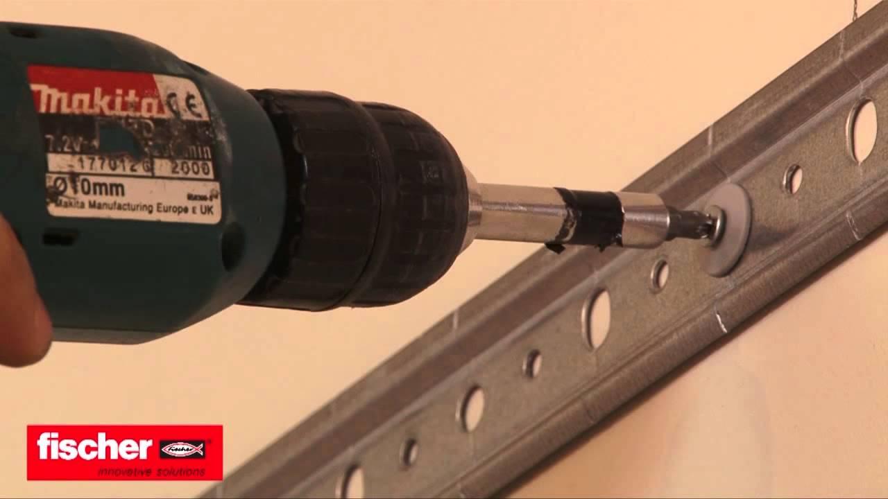 Come montare un pensile da cucina su cartongesso con tassello fischer SBN9 4
