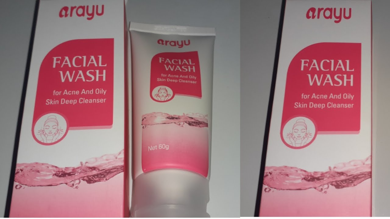 Review Facial Wash Kemasan Te Baru Arayu Aestetic Clinic