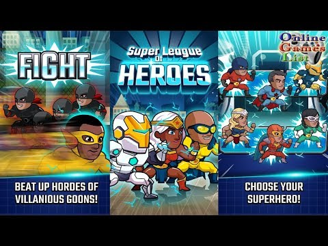 Super League of Heroes - Comic Book Champions Gameplay