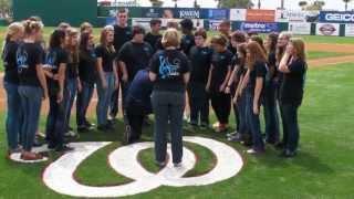 DeLaura Ensemble National Anthem Washington Nationals 3/18/13
