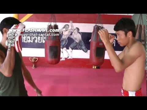 Muay Thai Cross - หมัดตรง