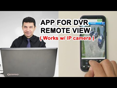 How To View A DVR Over The Internet Using An App For Mobile Phone