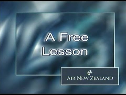 NZ60 - A Free Lesson