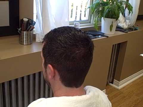 Mens Hair Working With A Cow Lick YouTube
