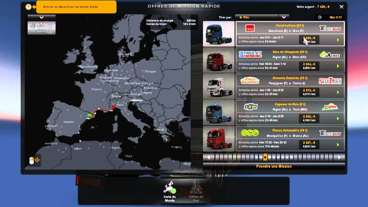 Euro Truck Simulator 2 Mods Maps Europe Africa   supernewstrategic