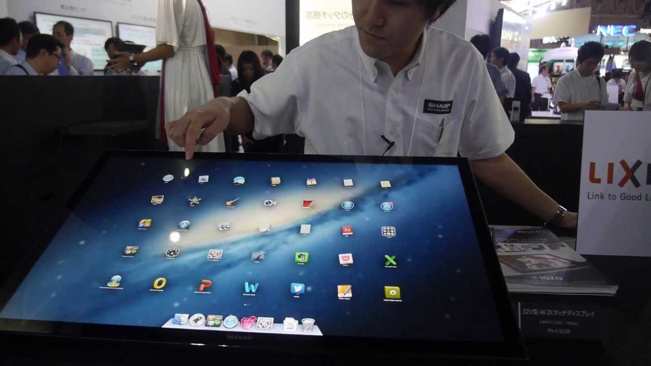 The challenge of the touch screen Mac