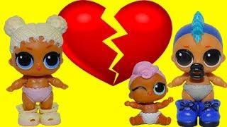 Ляльки лол посварилися в Дитячому саду Нова подружка ПАНКИ КИНУВ КВІТОЧКА Іграшки TOYS AND DOLLS