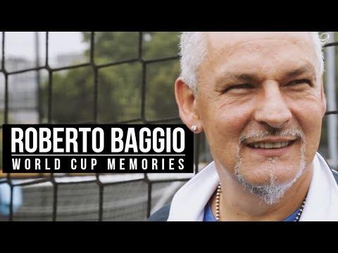 Roberto Baggio | World Cup memories, the Auzzurri and classic boots