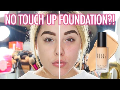 BOBBI BROWN SKIN LONG WEAR WEIGHTLESS FOUNDATION REVIEW | BEAUTY127
