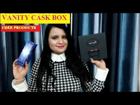 VANITY CASK JANUARY 2018||Free Thalgo Discovery Box+ Free Product