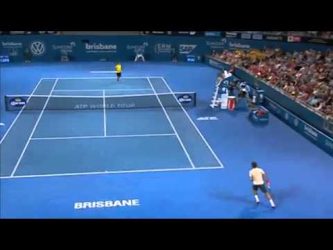 2014 Tennis Tournament Federer v Matosevic - Full Match Men