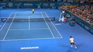 2014 Tennis Tournament Federer v Matosevic - Full Match Men
