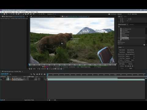 Getting Started with Motion Tracking & Green Screens with Adobe After Effects