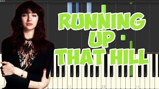 Running Up That Hill-Kate Bush (Piano Tutorial Synthesia)
