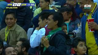 Gol de J. Macías   América 0 - 1 León   Clausura 2019 - Jornada 6   LIGA Bancomer MX