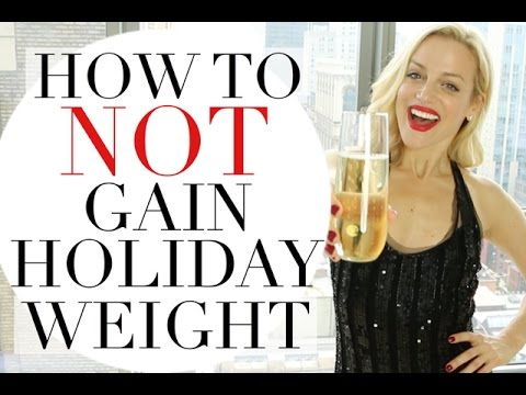 HOW TO NOT GAIN HOLIDAY WEIGHT | TRACY CAMPOLI | WEIGHT LOSS TIPS
