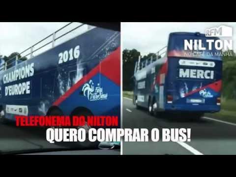 """""""QUERO COMPRAR O AUTOCARRO!"""" - Nilton na RFM"""