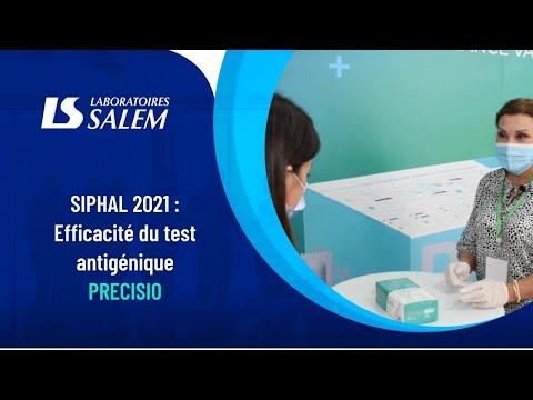 SIPHAL 2021 :  Efficacité du test antigénique PRECISIO