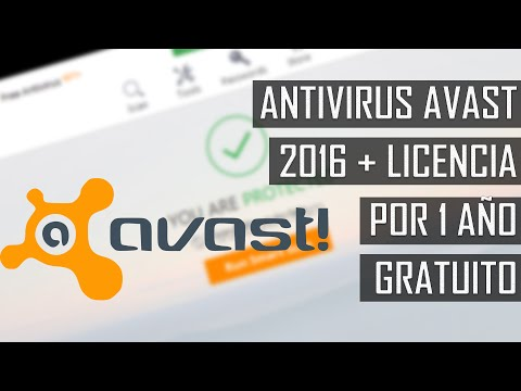 DESCARGAR E INSTALAR ANTIVIRUS AVAST 2016 | LICENCIA POR 1 AÑO | Windows 10/8.1/8/7 | 2016