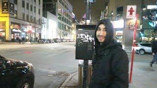 شاهد ماذا يحصل في شوارع مونتريال ليلا في كندا لن تصدق