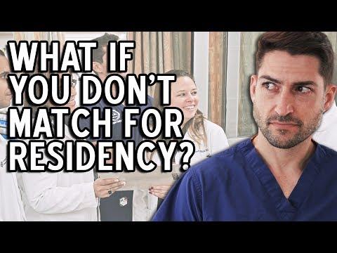 What To Do If You Don't Match For Residency