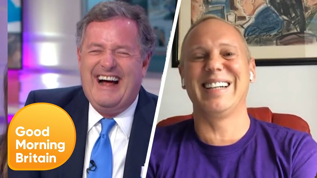 Judge Rinder on Celebrity Gogglebox with Susanna and Piers' Lockdown Hair! | Good Morning Britain