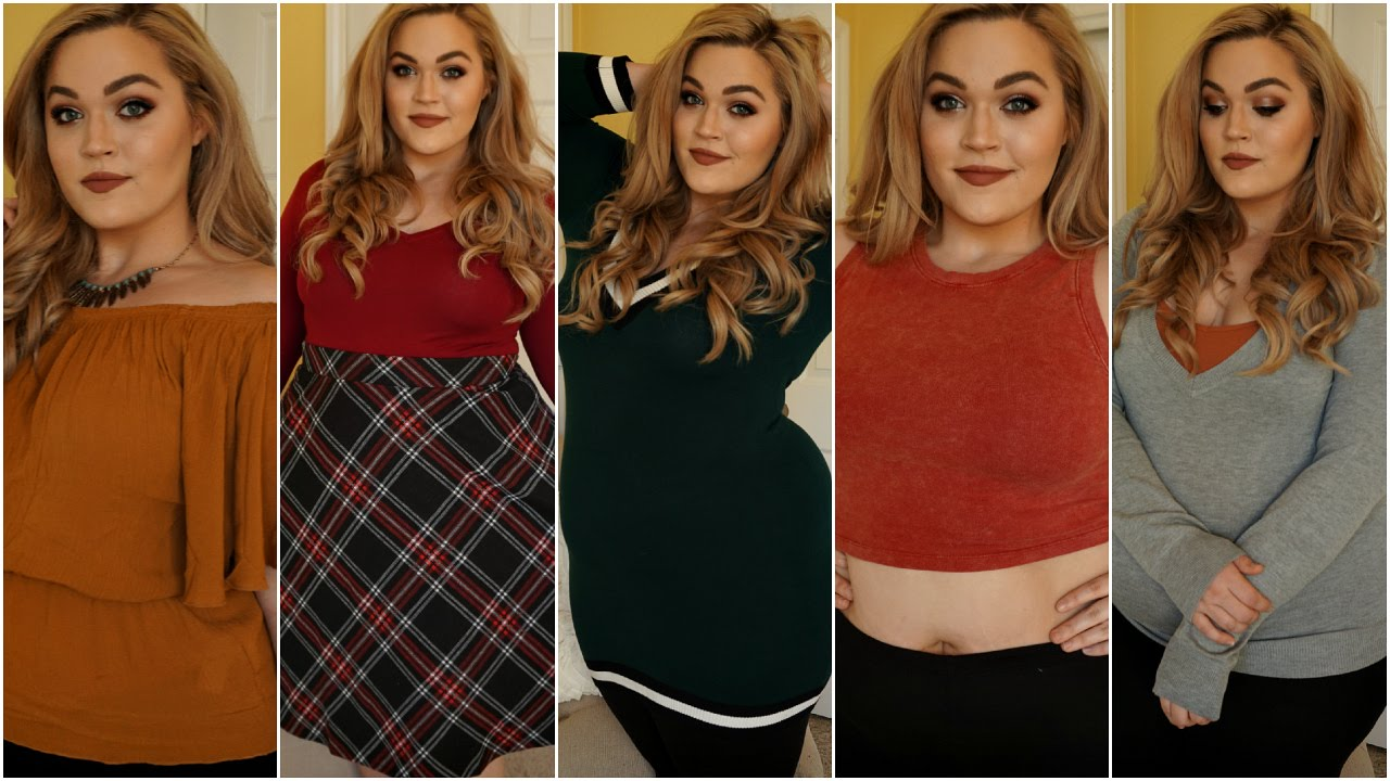 b4067b26ee Forever 21 Haul + Try-On  Plus Size Sweaters