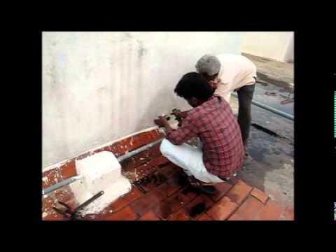 WATER SUPPLY PIPE CLEANING AT NANDI GARDENS, BANGALORE