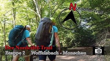 Der Nordeifel-Trail. Etappe 2 Woffelsbach - Monschau