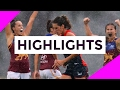 AFLW Highlights 2017 Round 1 Melbourne v Brisbane