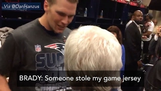 Tom Brady Super Bowl Jersey Stolen? | ABC NEws