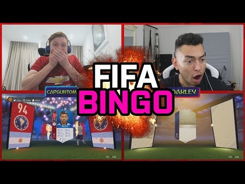 INSANE WORLD CUP FIFA 18 BINGO!!! HUGE ICON OR MESSI DISCARDED!!!