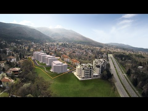Luxury gated community in Sofia's Boyana district