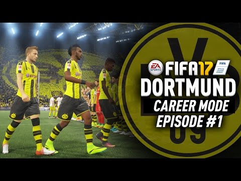 AUBAMEYANG LEAVING ALREADY!? FIFA 17 Dortmund Career Mode #1