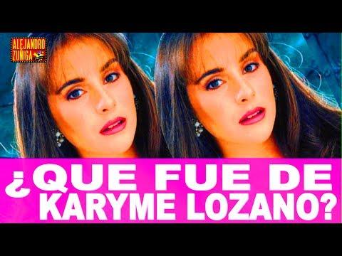 QUE FUE DE KARYME LOZANO!! Actriz de Televisa