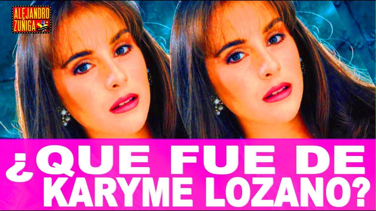 Que fue de karyme lozano actriz de televisa youtube for Espectaculos recientes de televisa