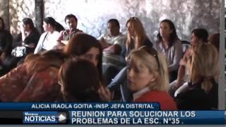 La escuela Nº 35 del barrio Santa Rosa con graves problemas edilicios - Alicia Iraolagoitia 1