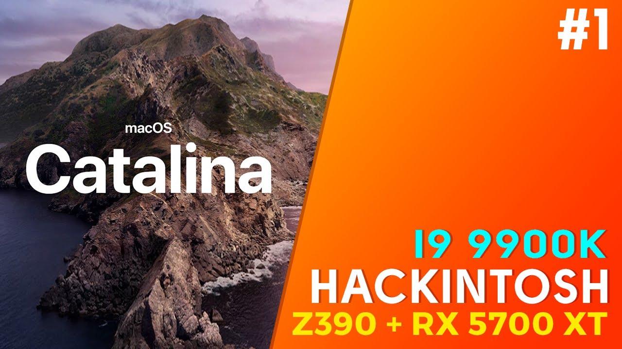 Projeto Hackintosh i9 9900K + Z390 + Osx Catalina + RX 5700 XT Nitro+