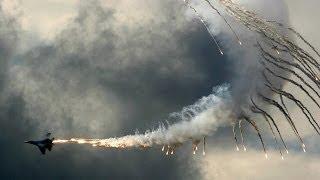 Flight on Sukhoi Su-27 fighter aircraft Extreme maneuverability / Полёт на истребителе Су-27