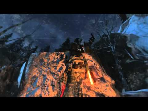 Rise of the Tomb Raider - The rescue - soviet weather station