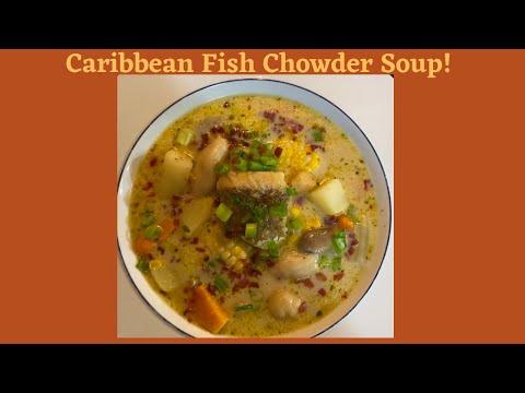Caribbean Fish Chowder Soup!