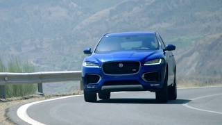 Jaguar F-PACE Vehicle Features and Driving Performance - ROGEE