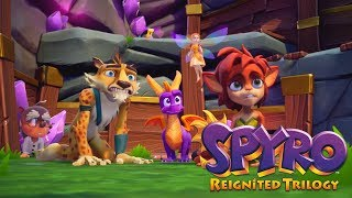 Spyro Reignited Trilogy - Spyro 2: Ripto's Rage! 100% Walkthrough Part 1 - Glimmer 1/2