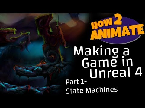 Creating my First Game in UE4 - Lipseed Dev Blog/Tutorial - How2Animate thumbnail