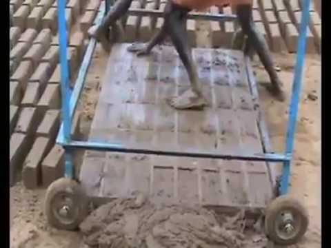 """Brick construction: How to make 24 bricks in One minute """"Creative"""""""