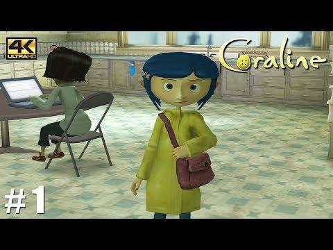 Coraline - Wii Gameplay Playthrough 4k 2160p (DOLPHIN) PART 1