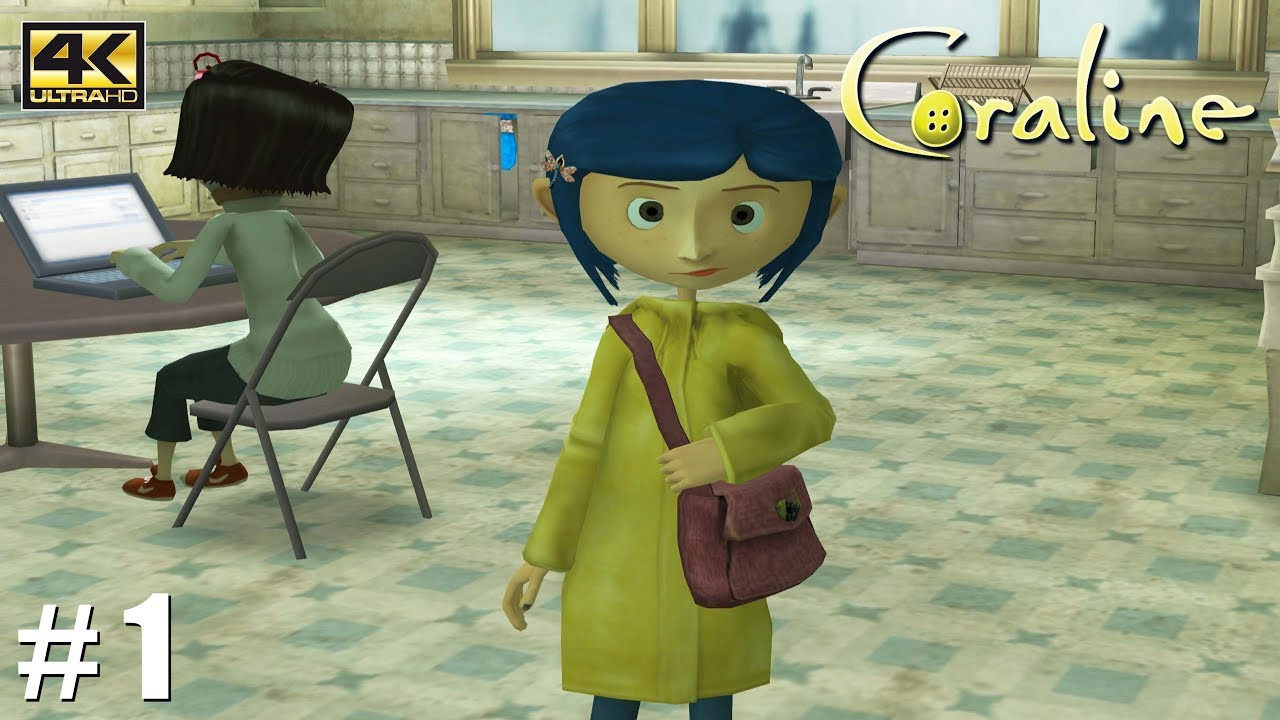 Download Coraline - Wii Gameplay Playthrough 4k 2160p (DOLPHIN) PART 1