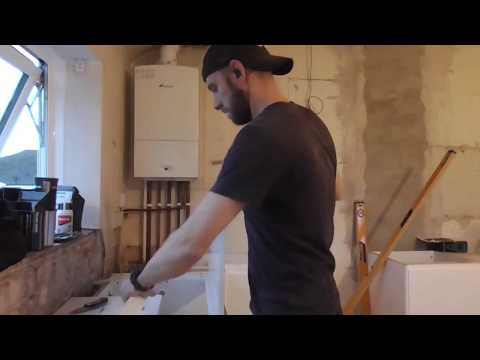 B&Q kitchen day 1