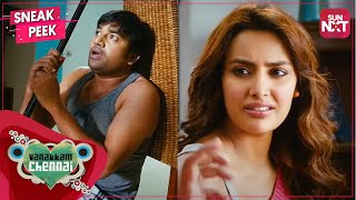Shiva & Priya Anand fooled by Santhanam   Vanakkam Chennai   Full movie on SUN NXT   Madras Day